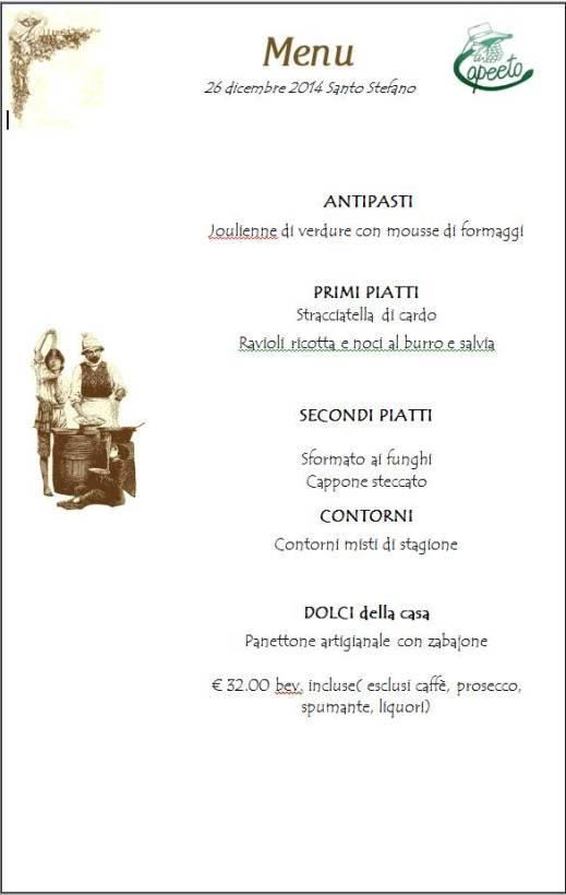 menu santo stefano 2014