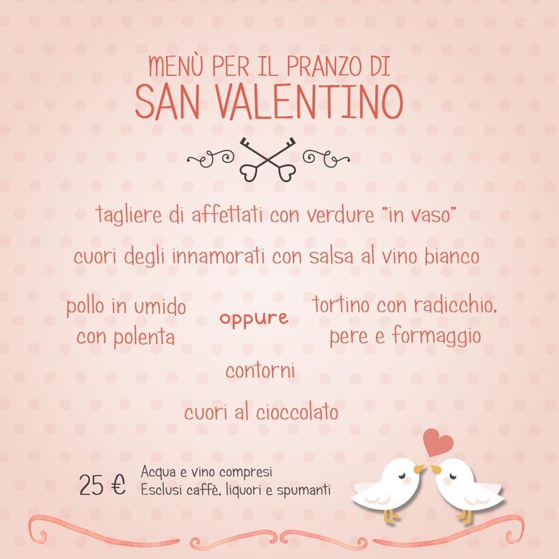 Pranzo di san valentino capeeto for Pensierini di san valentino